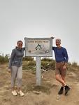 Lang biang national park.een zware klim naar boven de wolken