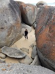 Rocks at wisky beach