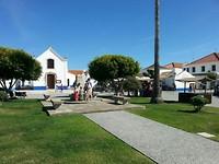 Pittoresk pleintje in Porto Covo