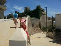 Het oude fort van Vila Nova de Milfontes