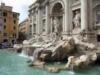 Trevi fontein