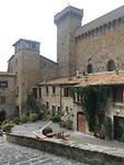 Het oude stadsdeel van Bolsena