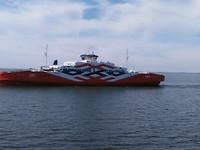 De veerboot naar Saaremaa