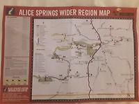 Kaart met route en stopplaatsen