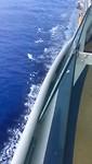 Extreem blauw water