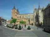 Nog even de kerk en bisschoppelijk paleis in Astorga