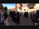 Begin van een processie