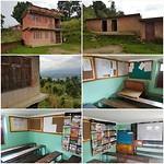 De school waar het geld, dat is gedoneerd, heen gaat voor het schilderproject