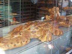 brood-kunstwerken bij Boudin sourdough