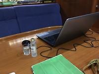 Werkplek van een Blogger