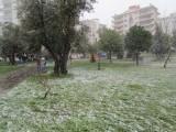 Sneeuw in Izmir
