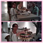 Ons afscheids diner van Luh Ria