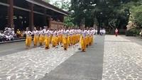 traditionele dans jonge vrouwen