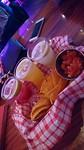 Mini cocktails & nacho's @ Hardrock Café