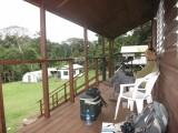 Las Cuevas vogels kijken vanaf de veranda
