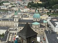 Uitzicht vanaf de Festung