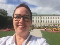 Selfie bij Maribellgarten