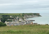 Uitzicht over Arromanches