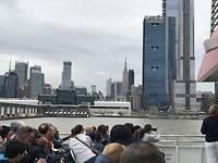 Vanaf de boot New York