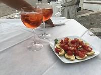 Heerlijk gegeten in Otranto