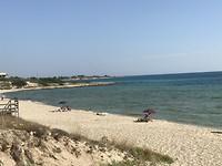 Strand onderweg