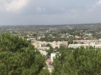 Uitzicht van Mottola