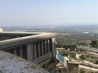 Uitzicht hoog uit Mottola