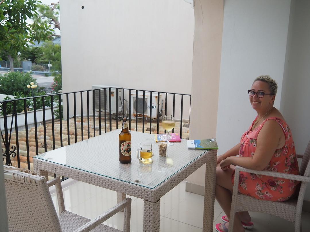 Hotel Palumbo Masseria Sant'Anna Op balkon