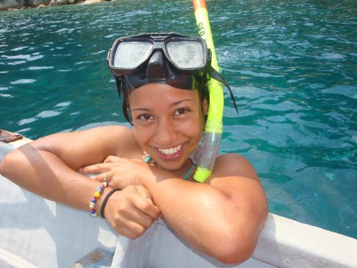Blije snorkel op de Perhentians