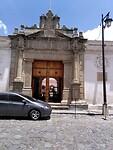 De eerste universiteit van Latijns-Amerika in Antigua