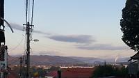 Uitzicht vanuit Reghin naar de bergen