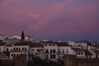 Ronda by night, blue hour