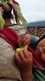 Bergvolkeren met souveniers in SaPa