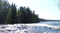 Wild water kanoeen