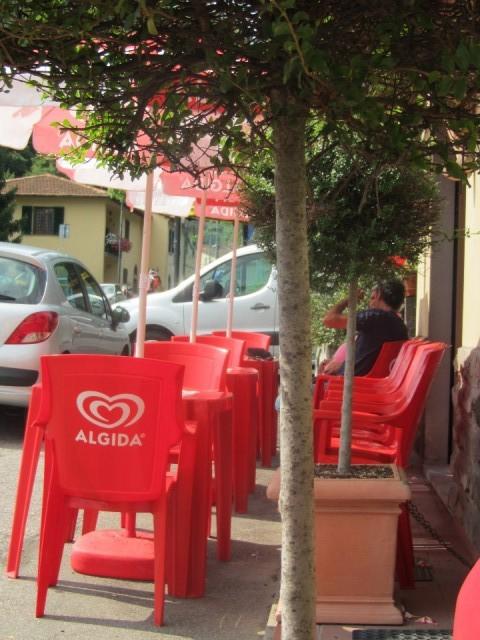 Terras foto andiamo a roma - Foto sluit een overdekt terras ...