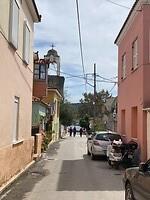 Onze straat (waar je het haventje al kan zien)