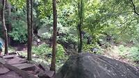 Zoek de waterval van Rigitale