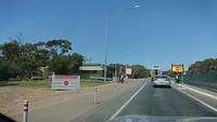 Quarantine Checkpoint grens South Australië