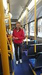 Andre in de bus, dat gebeurt niet vaak