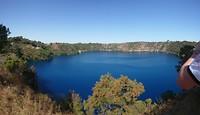 Blue Lake Mount Garbier