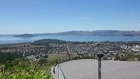 Uitzicht Gondela platform Rotorua
