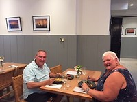 Ons laatste etentje in Adelaide