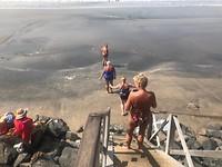 De trap naar zee