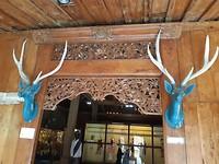 Balinese deur