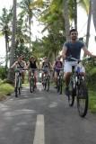 fietstocht Bali