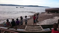 Kindjes op het eiland