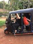 Proppen in de Tuktuk