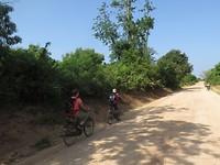 Op de fiets door Tanga