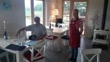 Het nieuwe restaurant op Prangli