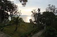 Uitzicht vanaf het hotel